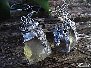 Sady šperkov - S východom slnka......(sada ,surový brazilit) - 10341934_