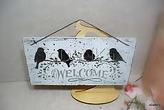Tabuľky - tabuľka Welcome - 10342565_
