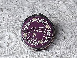 Zrkadielka - Zrkadielko LOVED - 10343735_