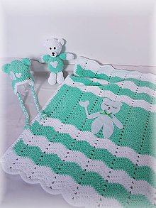 Textil - Detská deka MEDVEDÍK - 10340468_