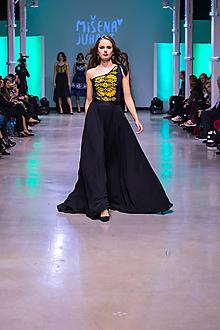 Šaty - Kolekcia Inšpirácie - modrotlač - 10340201_