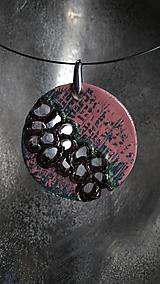 Náhrdelníky - Vybublané do ružova - 10341787_