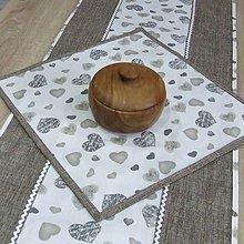 Úžitkový textil - MIŠO - obrus štvorec  40x40 - 10340182_