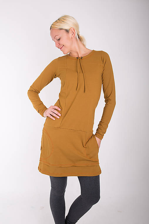 Šaty - 001... sand dress - 10343410_