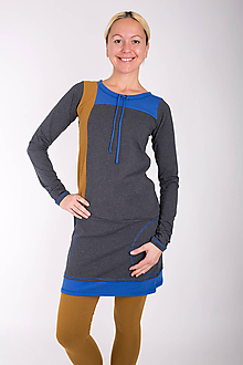 Šaty - 001... mix dress - 10343471_