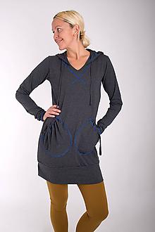 Šaty - 002... stone dress - 10343521_