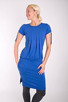 Šaty - 003... sea dress - 10343557_