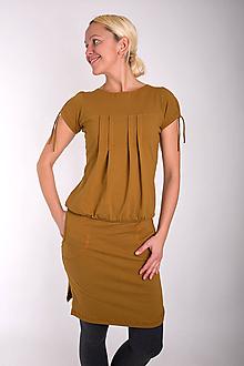 Šaty - 003... sand dress - 10343585_