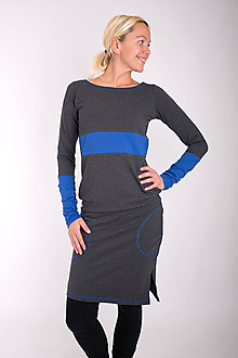 Šaty - 004... mix dress - 10343594_