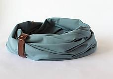Doplnky - Pánsky bavlnený šál - Luigi - 10343344_