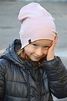 Detské čiapky - Čiapka Elastic Old pink - 10343099_