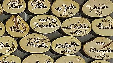Darčeky pre svadobčanov - menovky - 10340353_