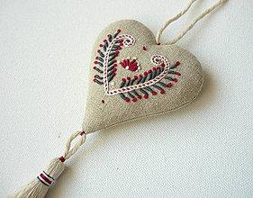 Dekorácie - srdce (srdce) - 10342857_