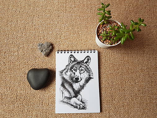 Zápisník- Vlk