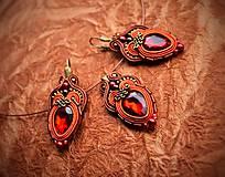 Sady šperkov - Sada Scent of India - náušnice, náramok a prívesok - 10340197_