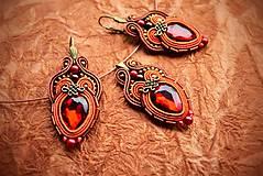 Sady šperkov - Sada Scent of India - náušnice, náramok a prívesok - 10340198_