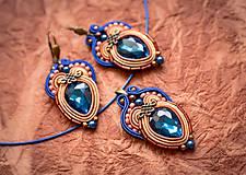 Sady šperkov - Sada Scent of India - náušnice, náramok a prívesok - 10340200_