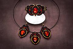 Sady šperkov - Sada Scent of India - náušnice, náramok a prívesok - 10340210_
