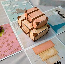 Papiernictvo - Gratulačná krabička na 40-ku - 10339836_