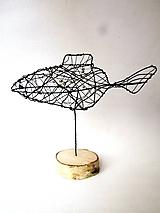 Socha - Zlatá rybka* 24 cm - 10340969_