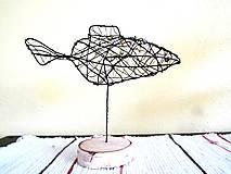 Socha - Zlatá rybka* 24 cm - 10340970_