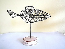 Socha - Zlatá rybka* 24 cm - 10340971_