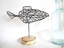 Socha - Zlatá rybka* 24 cm - 10340975_