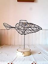Socha - Zlatá rybka* 24 cm - 10341631_