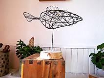 Socha - Zlatá rybka* 24 cm - 10341633_