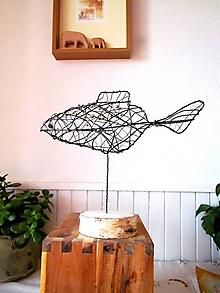 Socha - Zlatá rybka* 24 cm - 10341634_