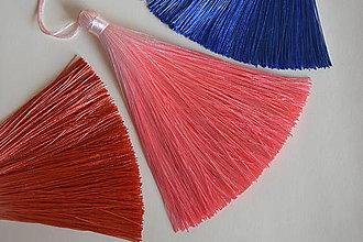 Polotovary - 50%-Strapec hodvábny ružový, z 1.80 na 0.90€/ks - 10343077_