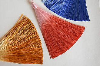 Polotovary - 50%-Strapec hodvábny červený,z 1.80 na 0.90€/ks - 10343091_