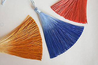Polotovary - 50% - Strapec hodvábny modrý, z 1.80 na 0.90€/ks - 10343113_