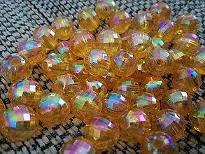 Korálky - Plastové korálky 1,2 cm. - 10342733_