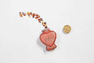 Nádoby - Dózička srdce - 10342398_