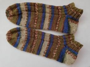 Obuv - Vlnené ponožky členkové - 10341091_