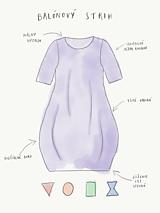 Šaty - Dámske šaty s vreckami čierne z teplákoviny M08s IO24 - 10343438_
