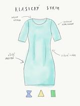 Šaty - Dámske šaty s vreckami šedé z úpletu M14 IO6 - 10343470_