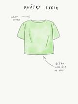 Tričká - Dámske tričko M02 IO14 - 10343476_