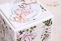 Papiernictvo - Darčeková krabička ku krstu I - 10347206_