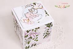 Papiernictvo - Darčeková krabička ku krstu I - 10347208_