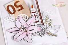 Papiernictvo - Darčeková krabička ku krstu I - 10347211_