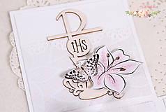 Papiernictvo - Darčeková krabička ku krstu I - 10347217_
