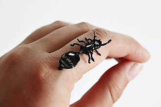 Drobnosti - Mravčia kráľovná- Tetramorium caespitum - 10346959_