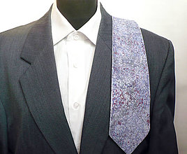 Iné doplnky - Hedvábná kravata. - 10346543_