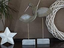 Dekorácie - Vtáci - 10344464_