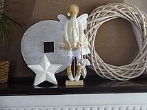 Bábiky - Béžová na podstavci - 10345182_
