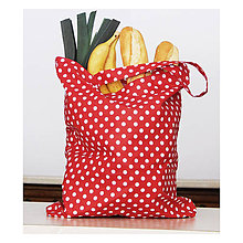 Nákupné tašky - Nákupná taška - Veselá červená - 10345546_