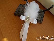 Pierka - svadobné pierko pre ženícha - 10345432_