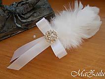 Pierka - svadobné pierko pre ženícha - 10345433_